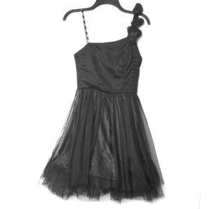 XOXO One Shoulder Dress